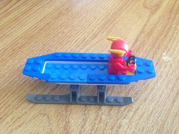 A 5 Step Lego Sled of Awesomeness