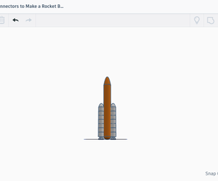 How to Make a Rocket Using Connectors in Tinkercad (Connectors)