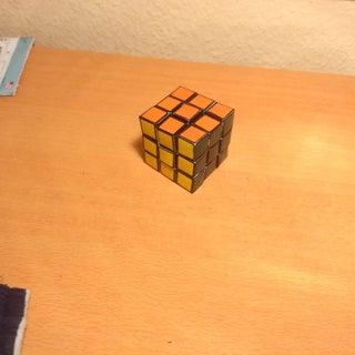 Functional Paper Rubik's Cube - Original & Minecraft