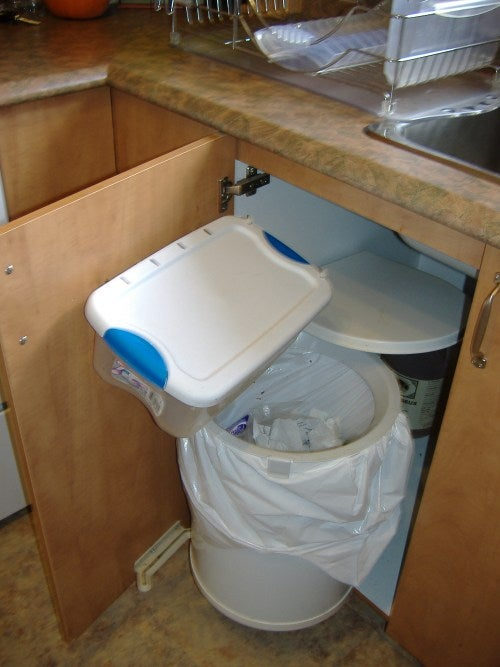 Secondary Garbage Bin - for Those Who Do Compost