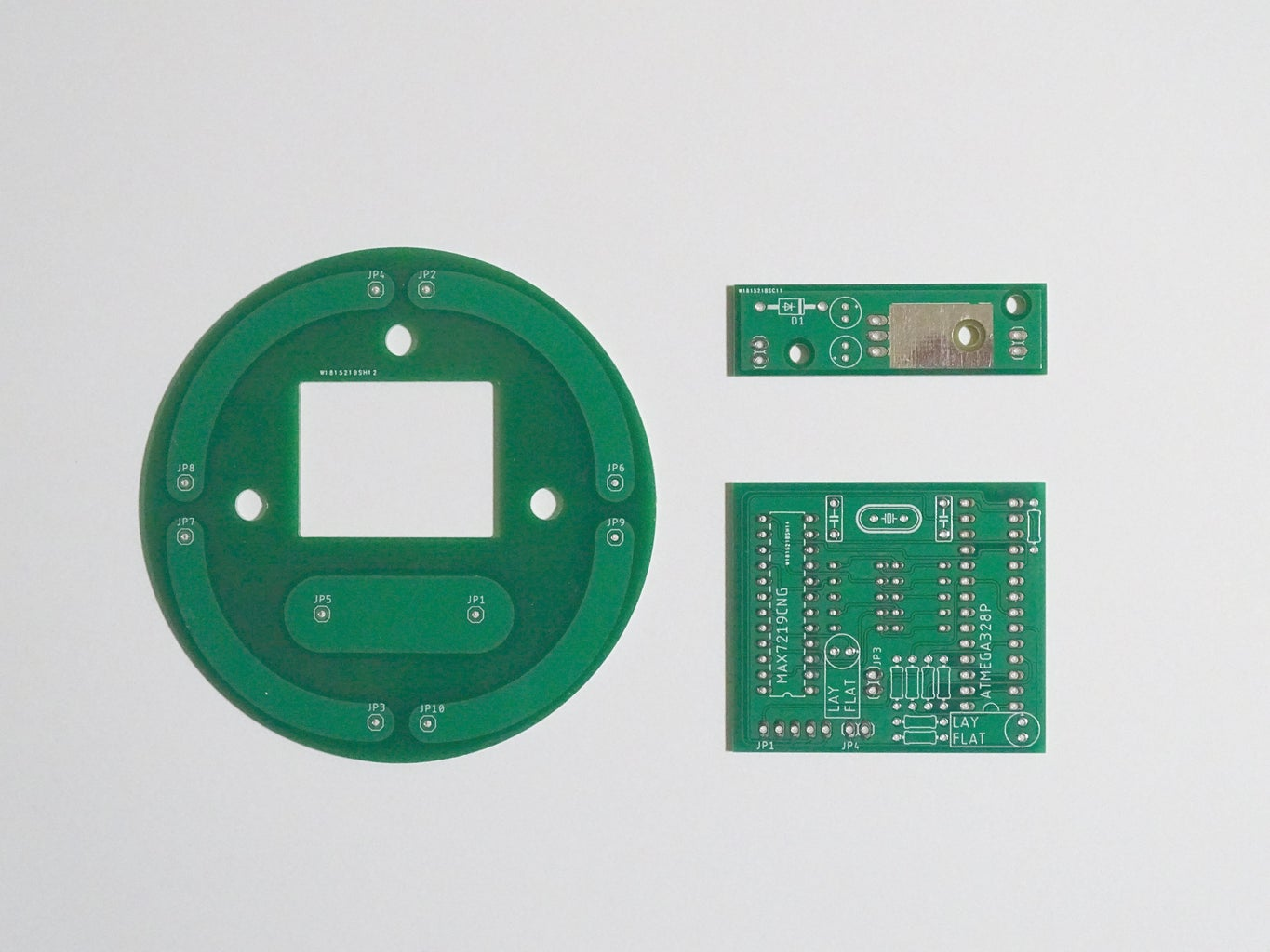The PCBs and Electronic Components