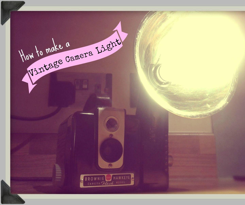 Vintage Camera Light