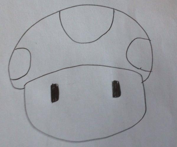 Drawing a Super Mario Mushroom