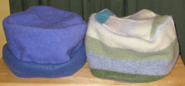 Sew Easy Hat From Old Sweater
