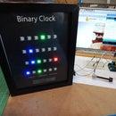 Binary Clock Using Neopixels