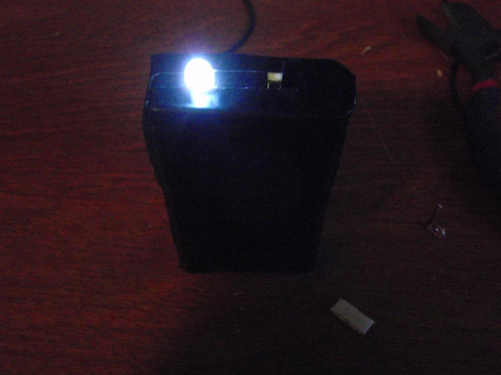 Tic-Tac flashlight