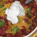 Lazy Man's Slow Cooked Game Day Chili