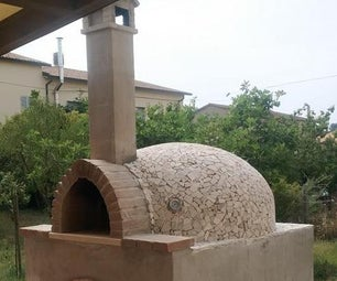 True Naples Wood Fired Brick Pizza Oven