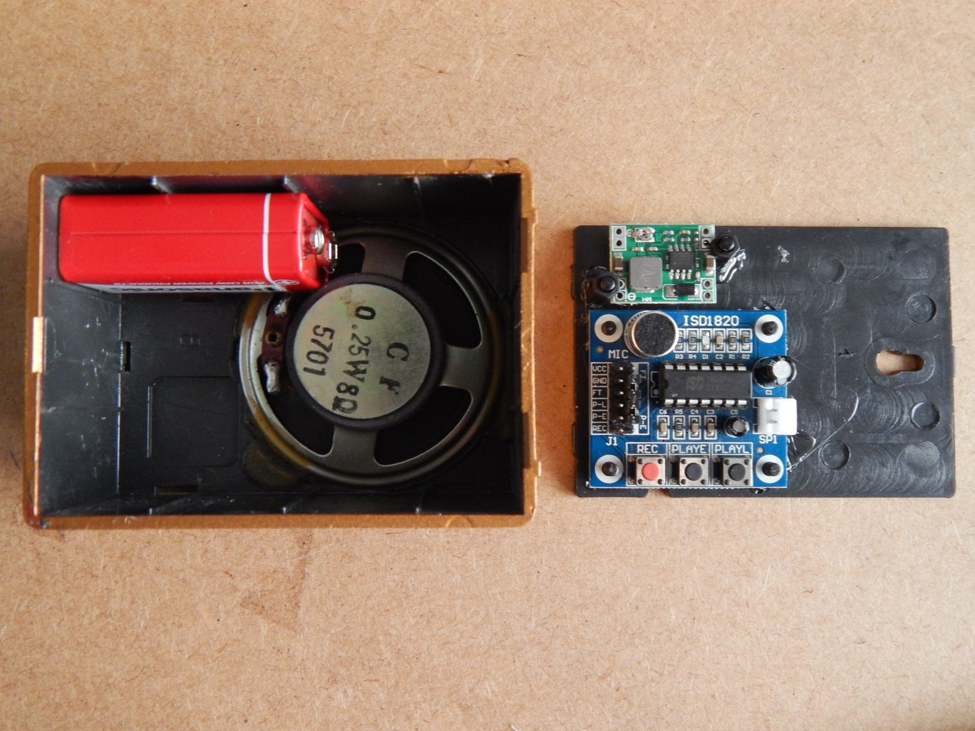 Placing Components Inside the Box