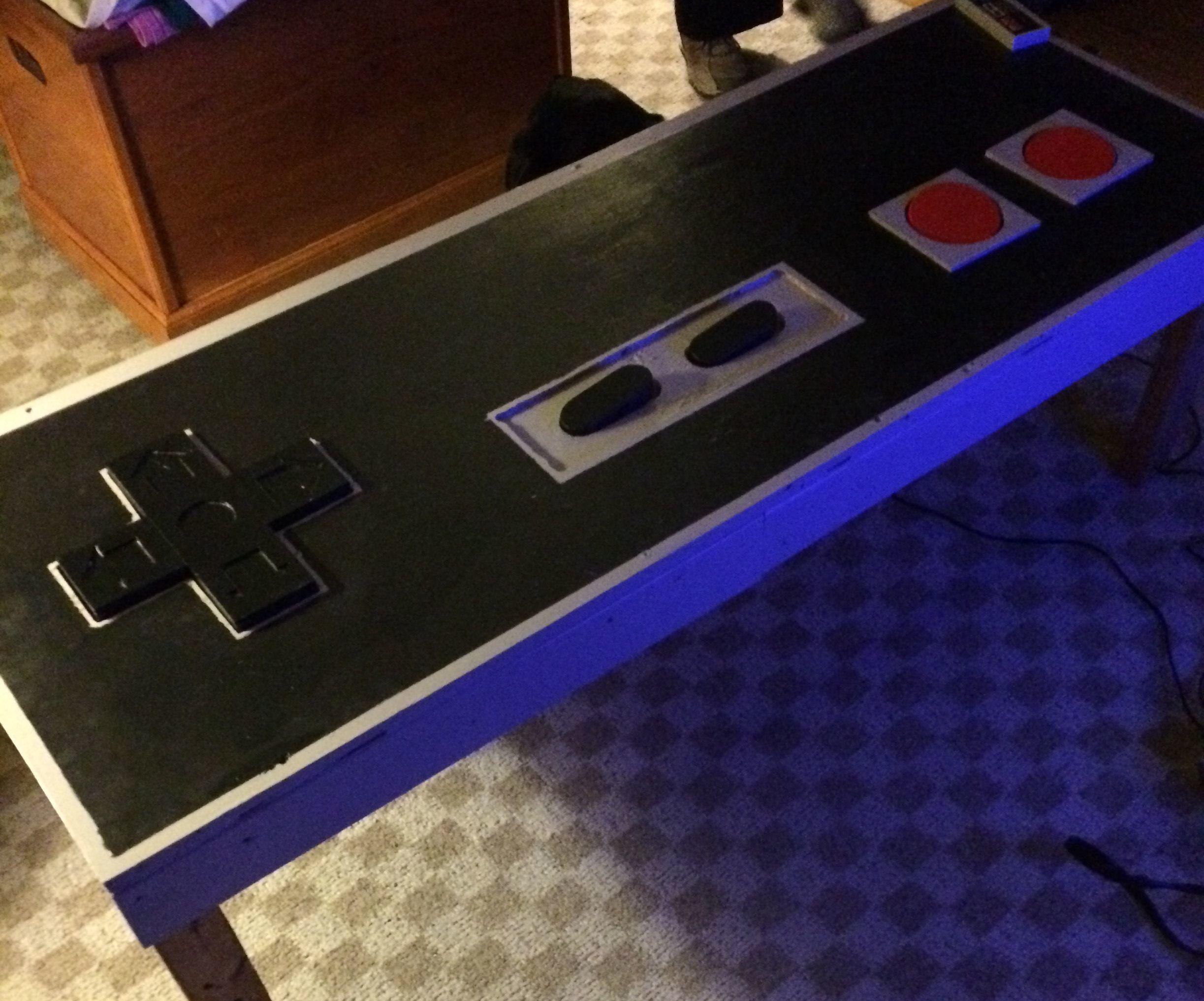 Incredible NES Coffee Table
