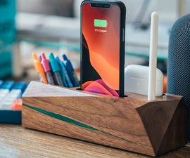 Organizer With Charging for IPHONE and AIRPODS PRO