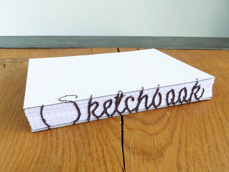 Coptic Letter Binding -  Notepad 2 Sketchbook