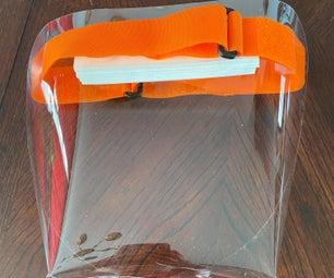 COVID-19 DIY Reusable Face Shield
