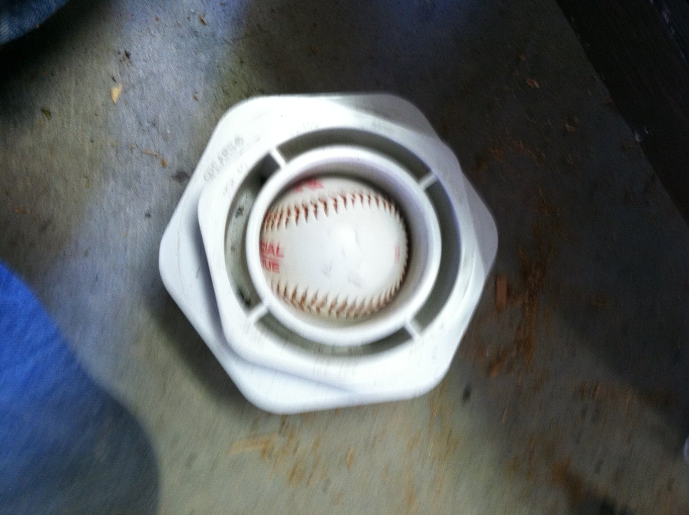 Drilling Baseballs