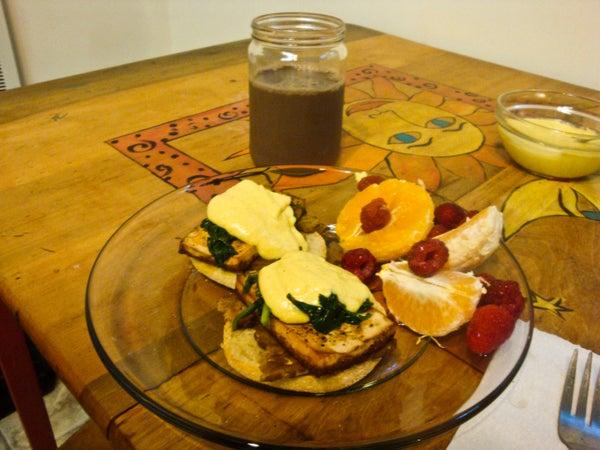 Decidedly Delicious Vegan Benedict