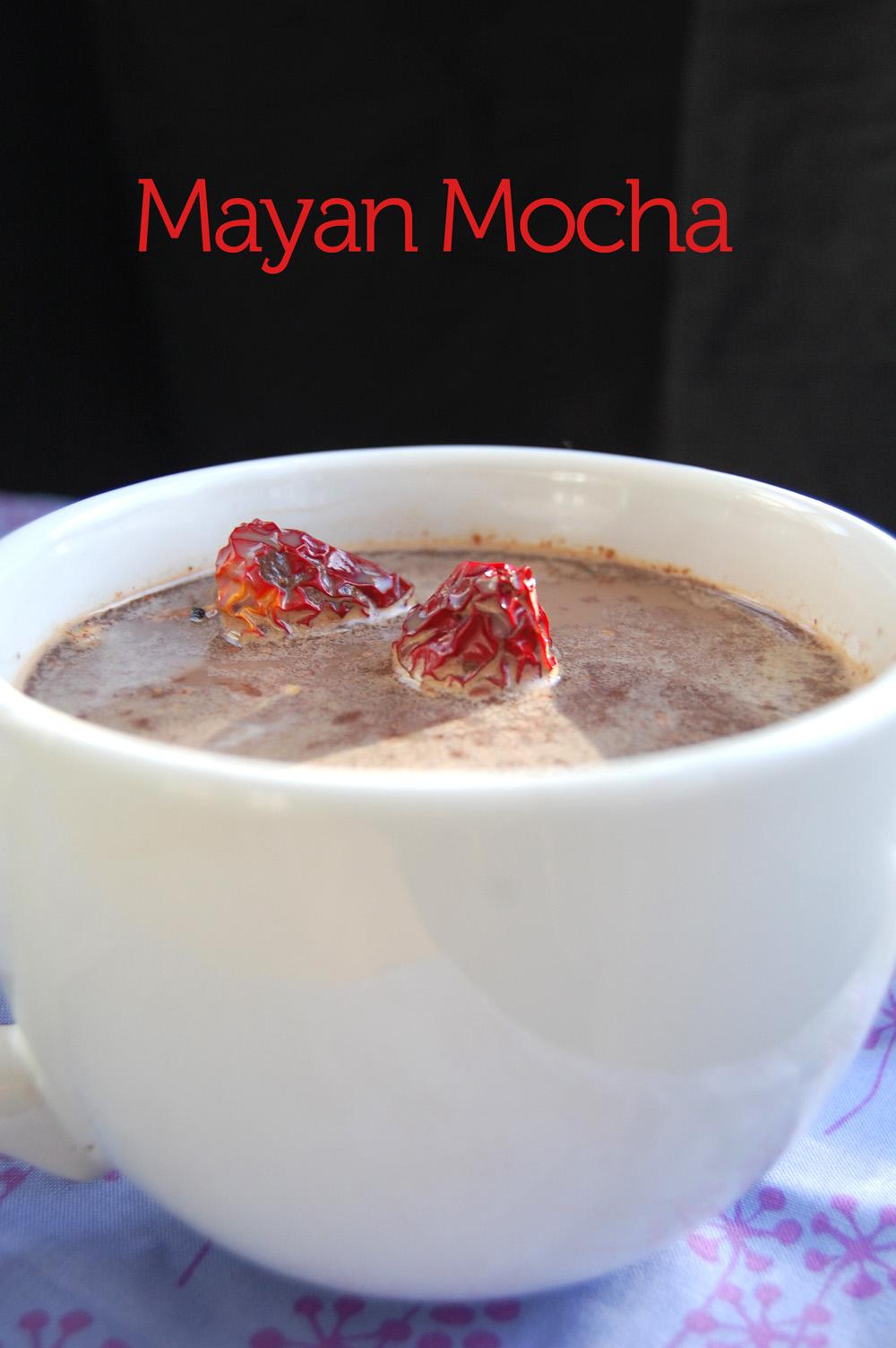 Mayan Mocha Mocktail