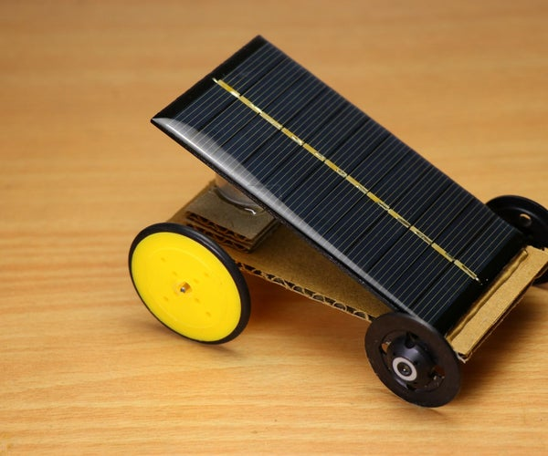 How to Make Solar Car - DIY Mini Car
