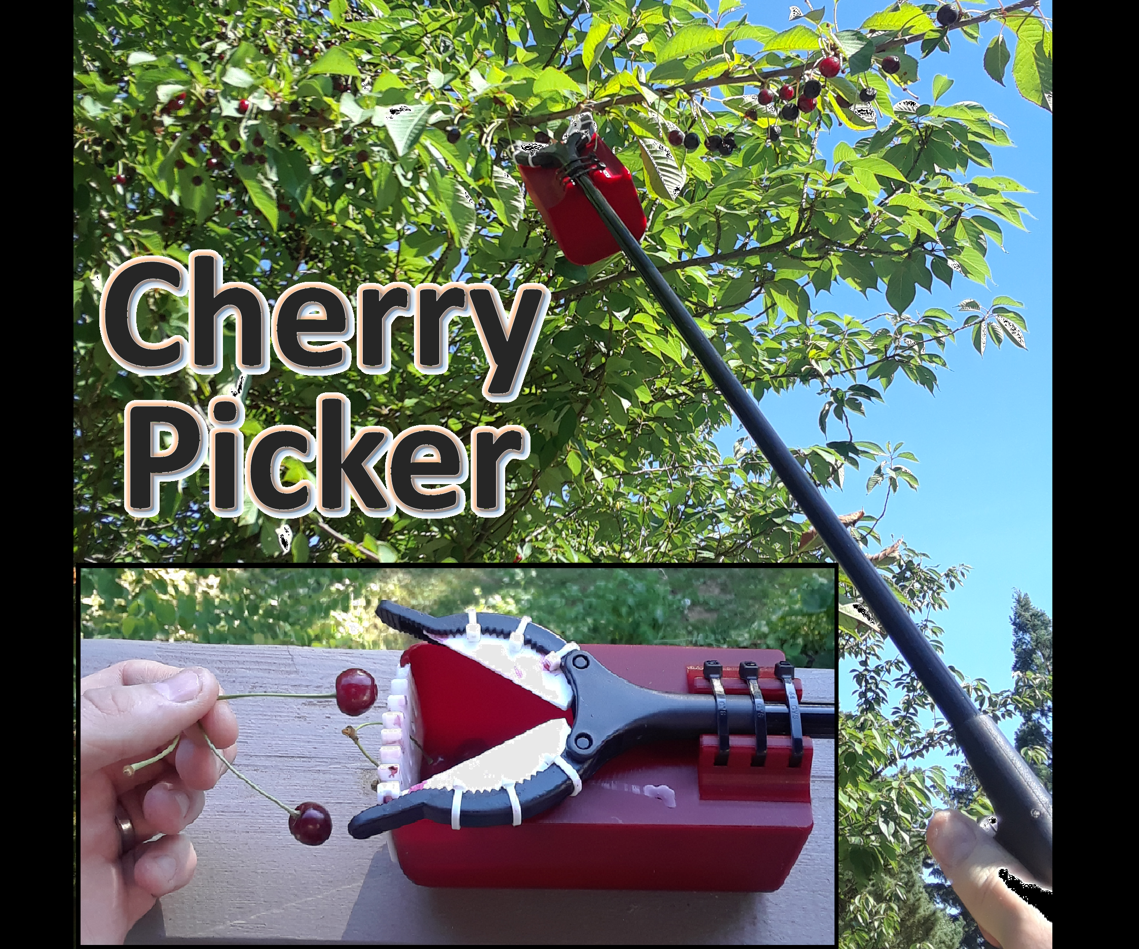 Extended Reach Cherry Picker Stick