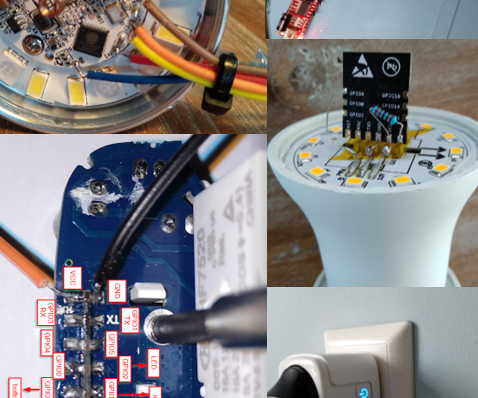 Hardware and Software Hack Smart Devices, Tuya and Broadlink LEDbulb, BSD33 Smart Plug