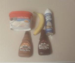 Classic Banana Split.