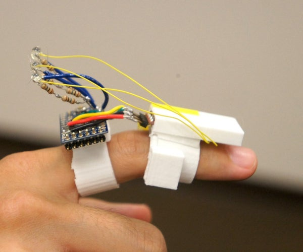 Maestro - Finger Mounted Input Device to Control the Cursor.