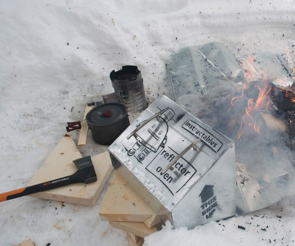 Reflector Oven for Campfires