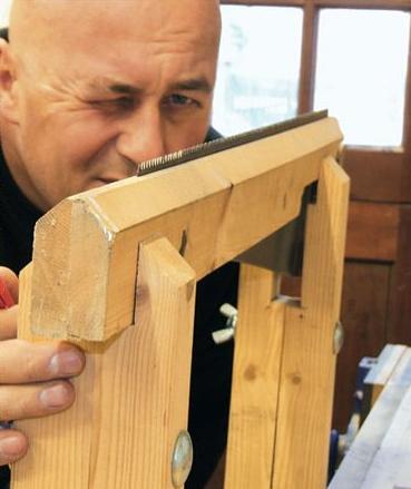 Sharpening a Saw