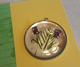 Tiny Flower Necklace Pendant