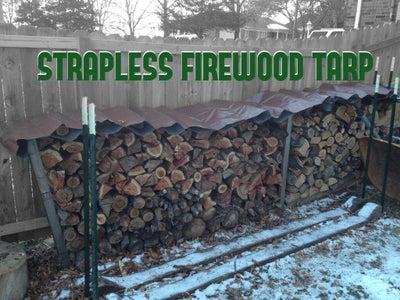 Strapless Firewood Tarp