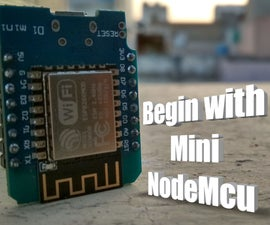 Nodemcu Mini D1 R1   for Beginner    ESP8266    Bink    Wemos D1 R1