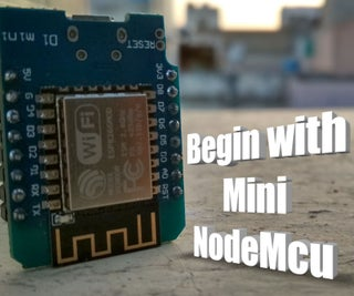 Nodemcu Mini D1 R1|| for Beginner || ESP8266 || Bink || Wemos D1 R1