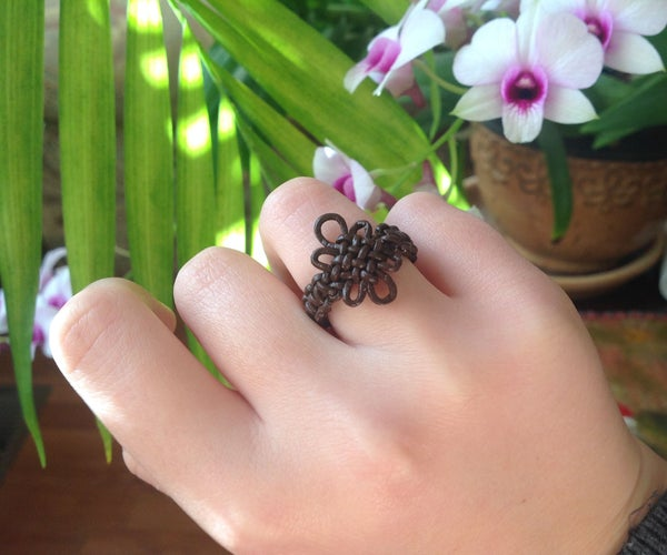 Pan Chang Knotted Ring