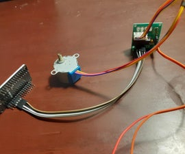 Stepper Motor Controlled by Esp32