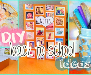 DIY Back to School Ideas! DIY Organization, Tumblr Inspired Supplies & More!
