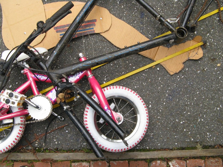Layout Donor Bike on CAD Setup