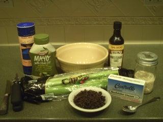 Stuffed Olive Celery 9 Steps Instructables