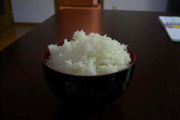 Perfect Japanese Rice in a Rice-cooker
