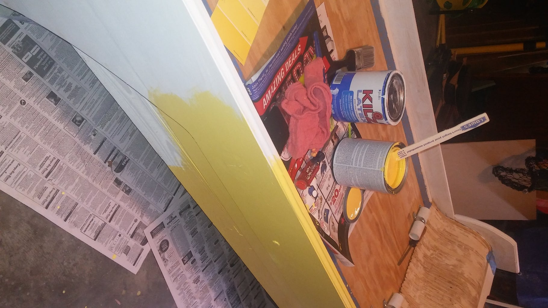 Designs, Rubber Mat Attachment, Painting and Stencils