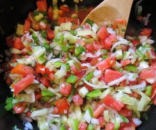 Recipe: a Basic Heirloom Tomato Salsa
