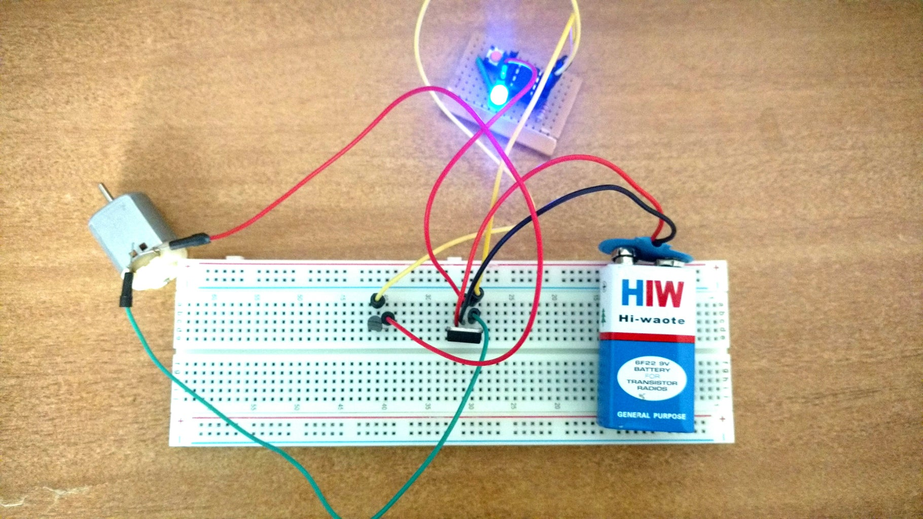 Using Transistor for Robotics