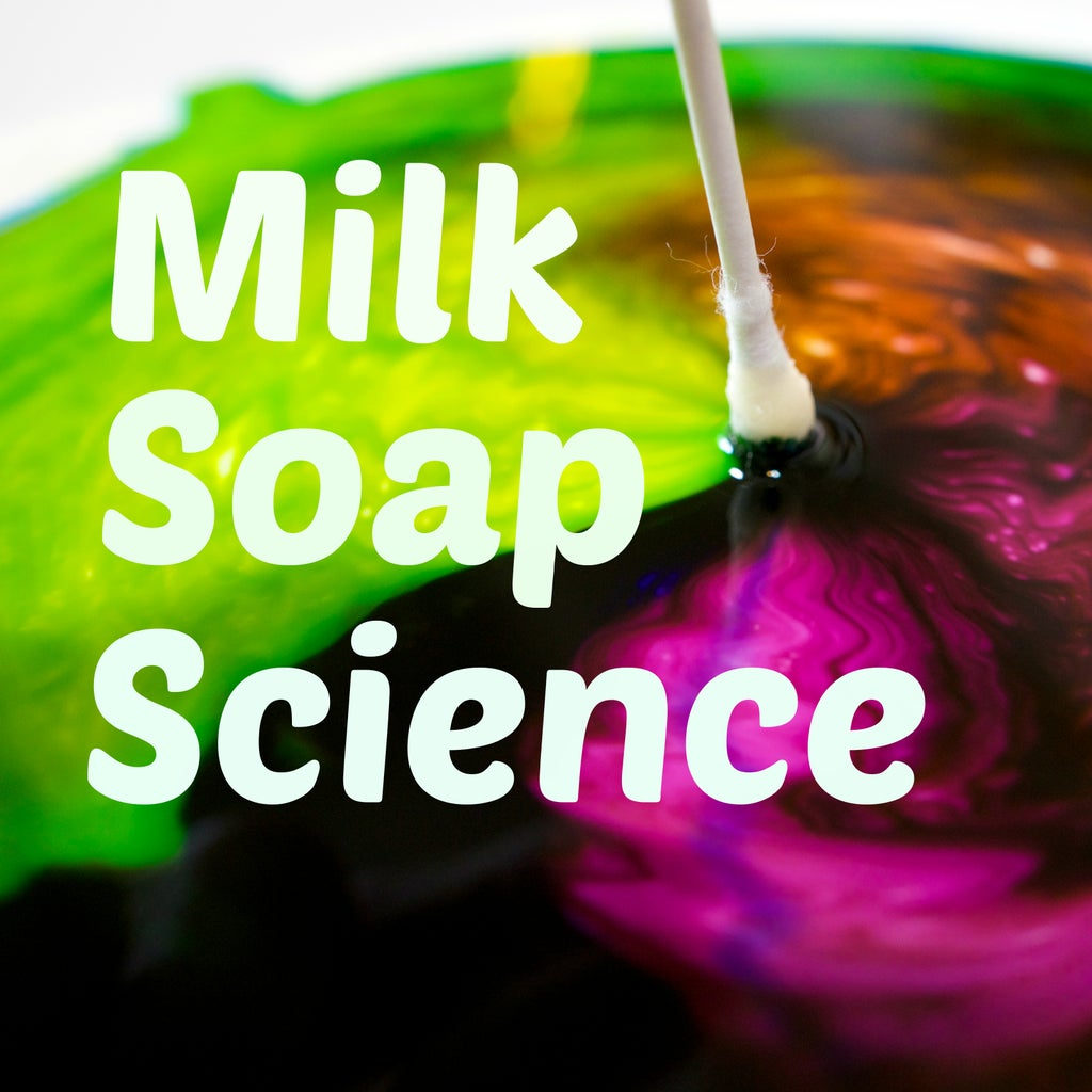 Milk + Soap = Awesome Reaction