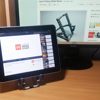 Lego Folding Tablet Stand