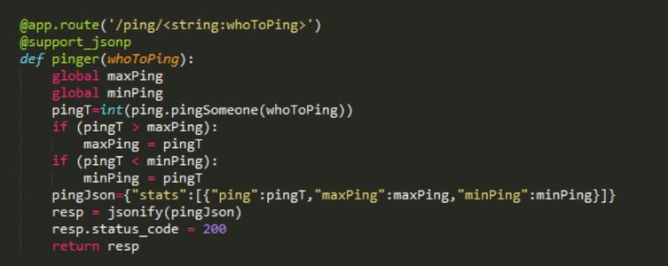 The Ping Example