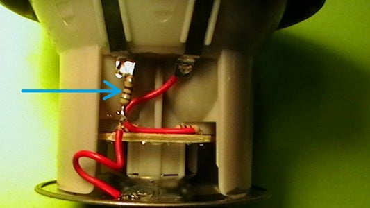 Solder the Resistor