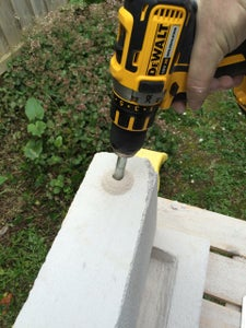 Drill Hole for the Gas Torch