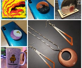Things That Can Be Done With Epoxy Resin - Beginner Level