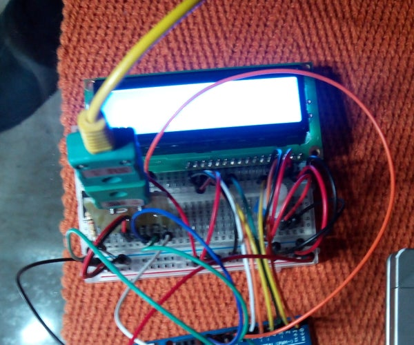 Arduino Type K Temperature Indicator