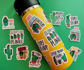 How to Make Waterproof Die Cut Stickers on Your Cricut