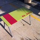 Ikea Table Re-Purposed