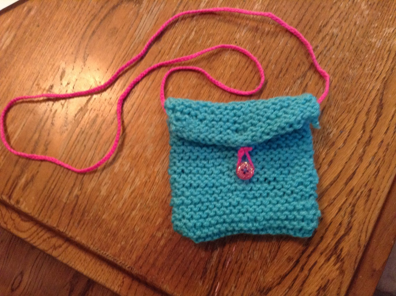 Knitted  Bag - for Beginners